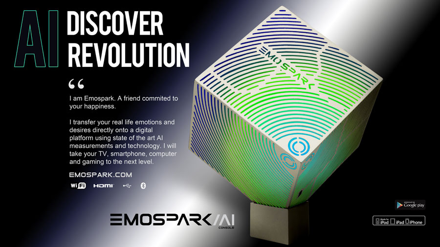 EmoSPARK - the beating heart of AI in the 21st Century!